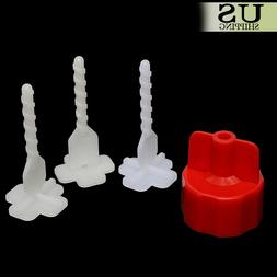 100 Professional Tile Flat Leveling System Wall Floor Spacer